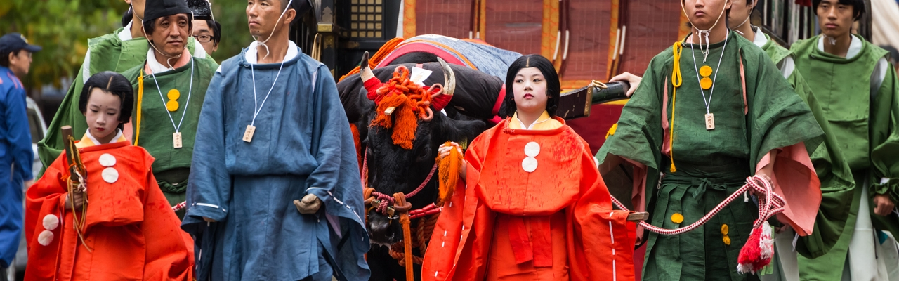 Lễ hội Jidai - bức tranh cuộn về các triều đại lịch sử Kyoto