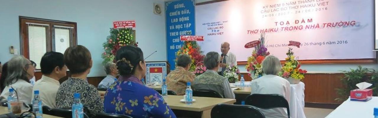 CLB thơ Haiku Việt TP.HCM kỷ niệm sinh nhật lần 9