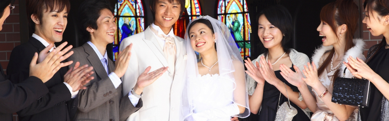 Một tiệc cưới ở Nhật Bản