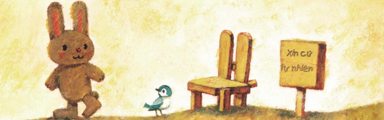 Bài học về sự tử tế từ Ehon Chiếc ghế tốt bụng
