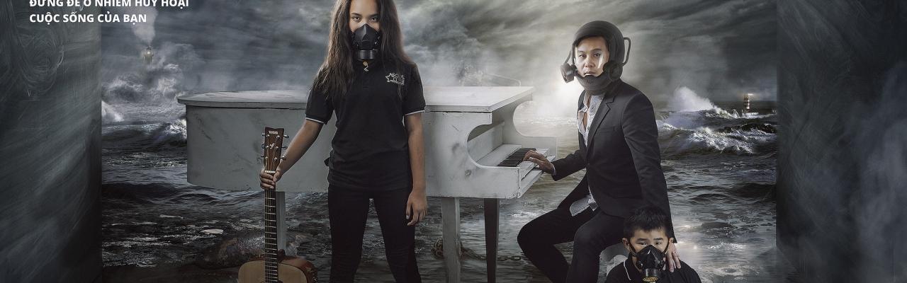 """""""Tôi không quan tâm"""" - tiếng nói của nghệ sỹ Việt trước vấn nạn ô nhiễm"""