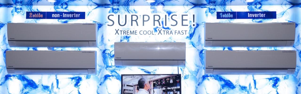 Panasonic giới thiệu dòng máy lạnh mới 2015