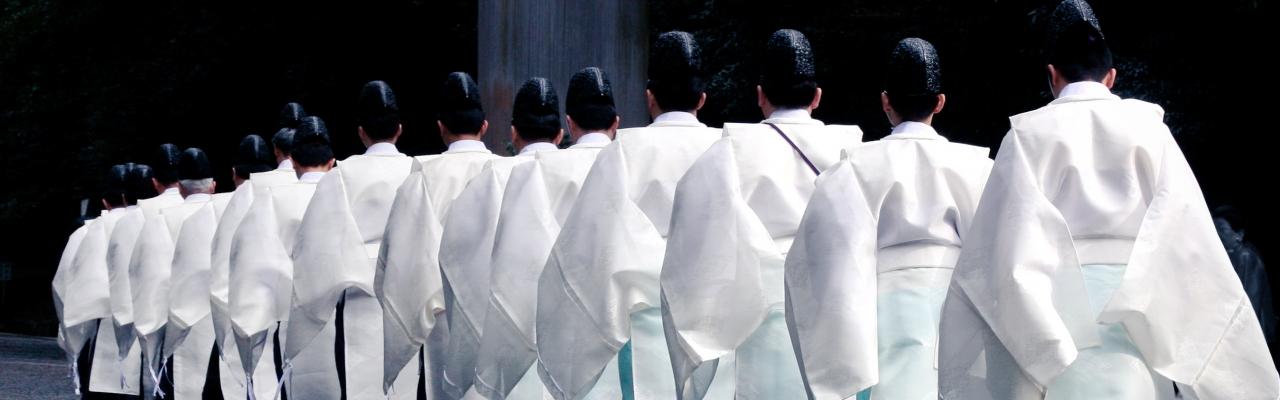 Để trở thành một đạo sỹ Shinto