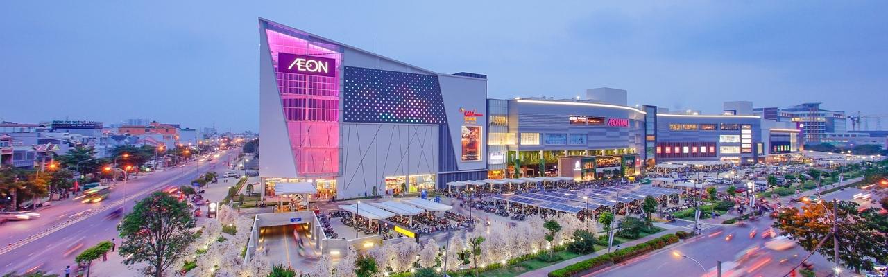 AEON Mall Bình Tân – đưa lối sống Nhật Bản vào cuộc sống hàng ngày