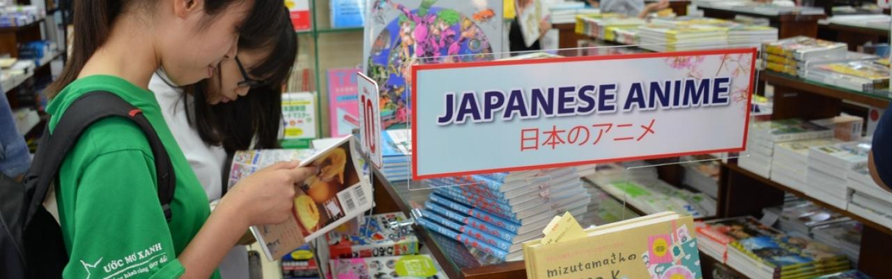 Sách từ Nhật Bản, cuộc chinh phục âm thầm