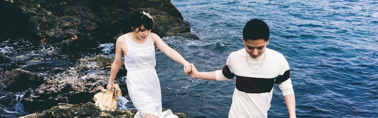Bộ ảnh cưới độc đáo chụp bằng iPhone 6S tại Nhật Bản