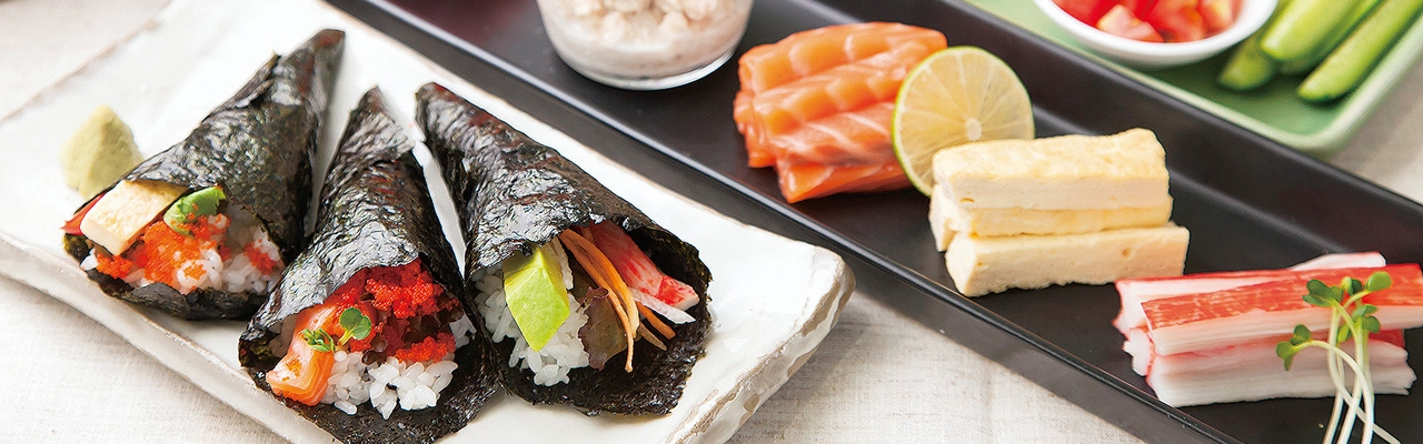 Temakizushi - Sushi tự cuốn