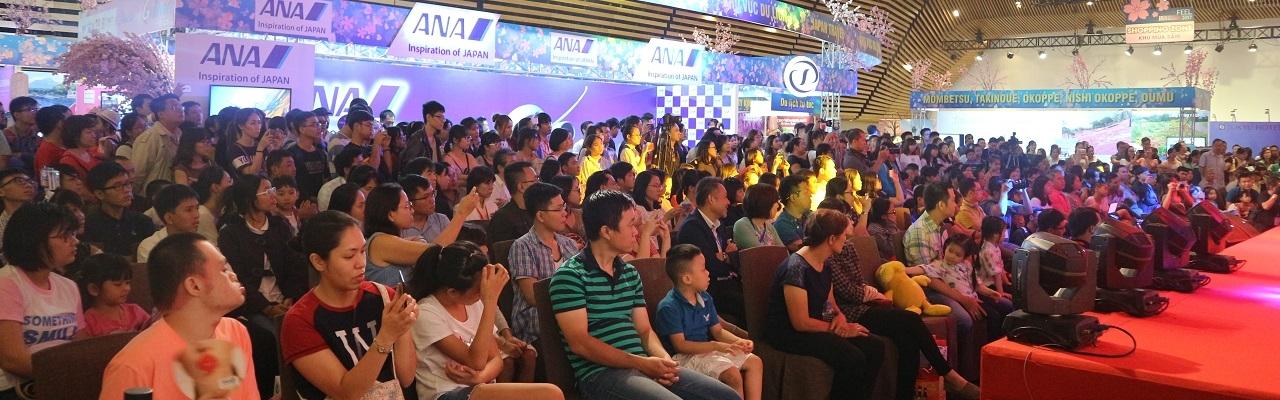 Ngày 1 Feel Japan: Choáng với gần 5000 người tham dự