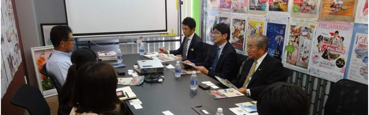 田上長崎市長がKilalaにやって来た