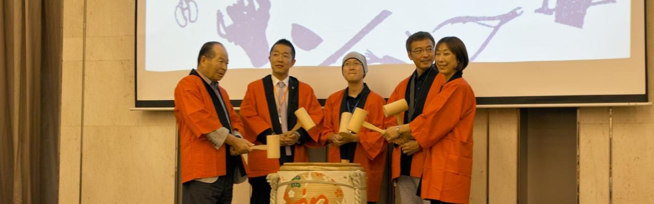 Đàm phán thương mại với doanh nghiệp vùng Tsubame-Sanjo