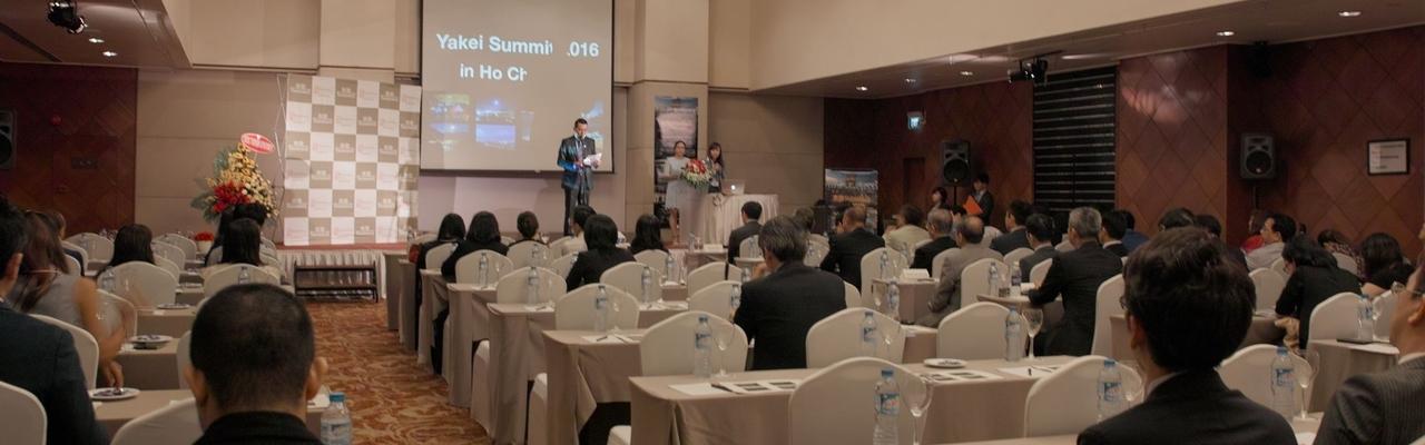 Hội nghị cảnh đêm - Yakei Summit 2016 in Vietnam