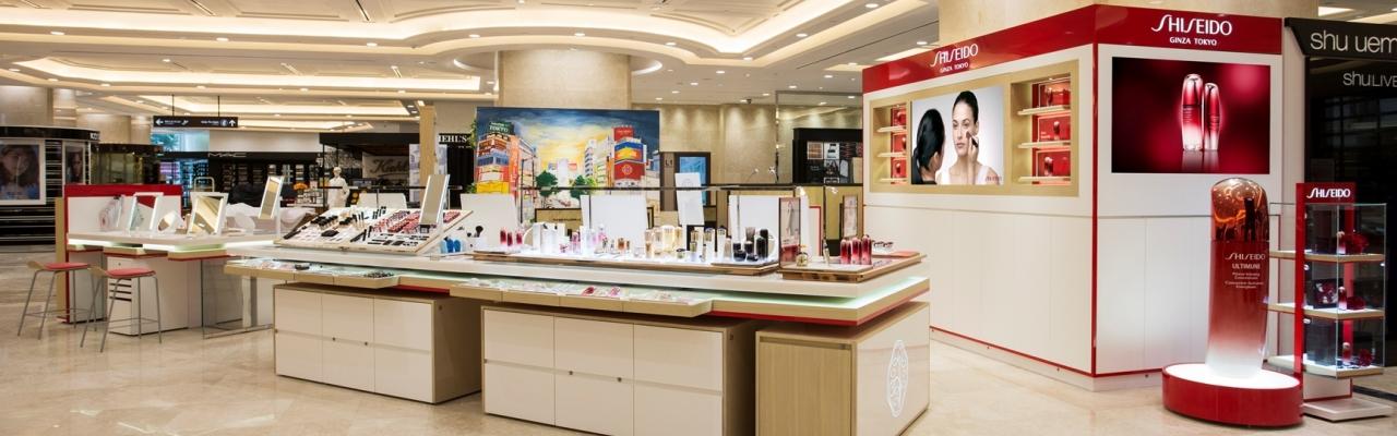 Cửa hàng Shiseido tại Việt Nam