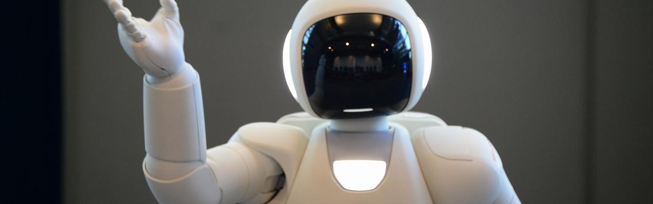 Đến Miraikan gặp robot ASIMO