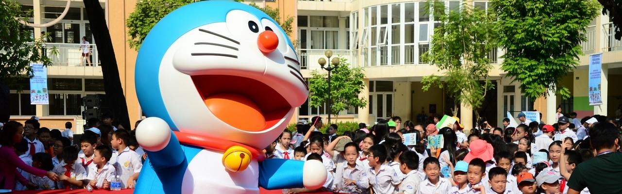 Vai trò mới của Doraemon tại Việt Nam