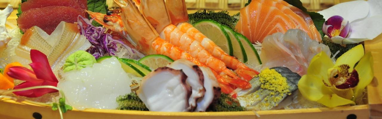 日本の雰囲気を味わう、Sushi Dining AOI