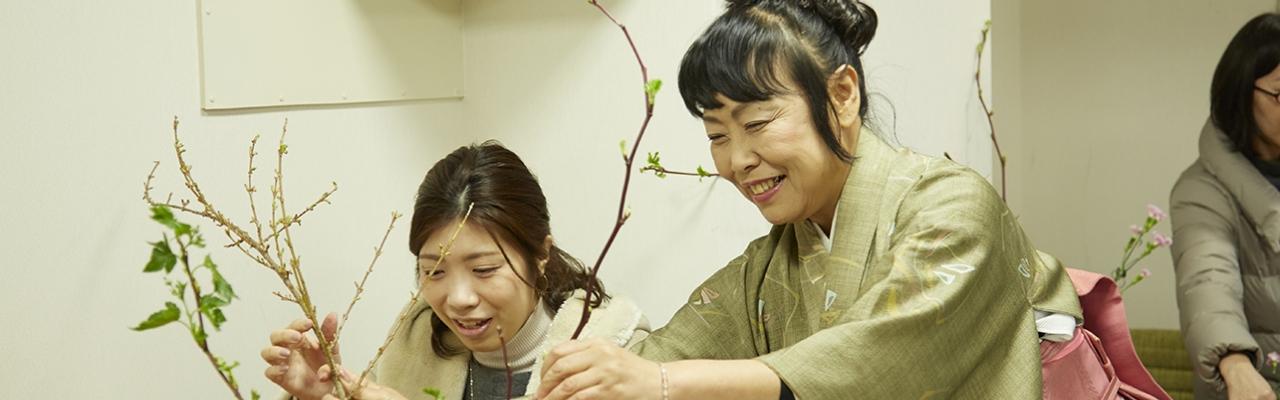 Cắm hoa Ikebana - Đừng chỉ dùng đầu để nghĩ