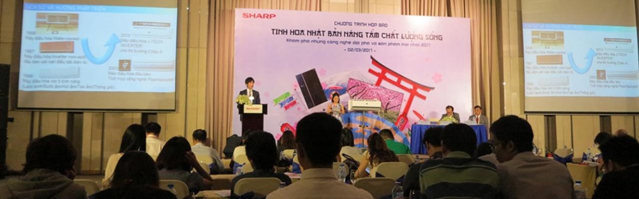 """""""Việt Nam là một thị trường V.I.P của Sharp"""""""