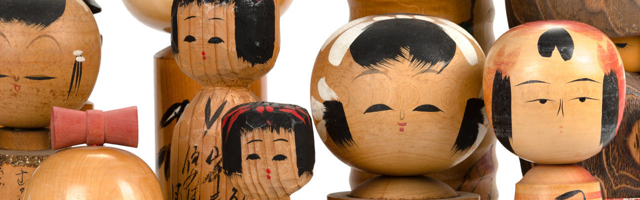 Búp bê gỗ Kokeshi: đáng yêu như trẻ thơ