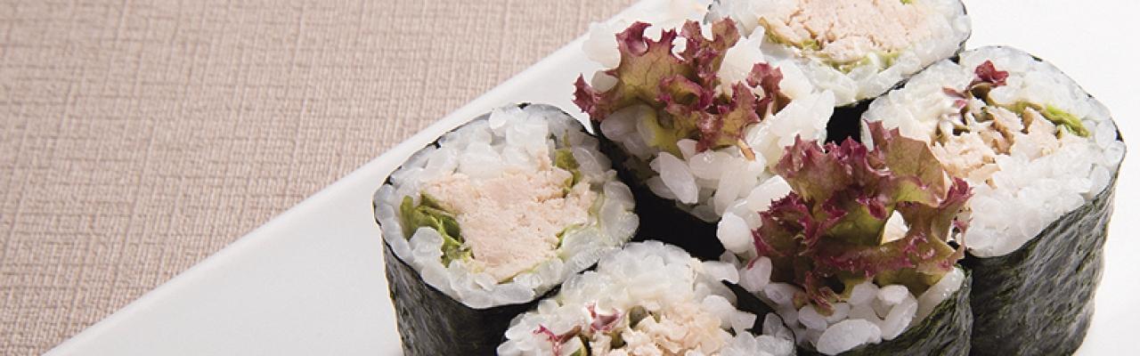 Trổ tài với Sushi cá ngừ Mayonnaise