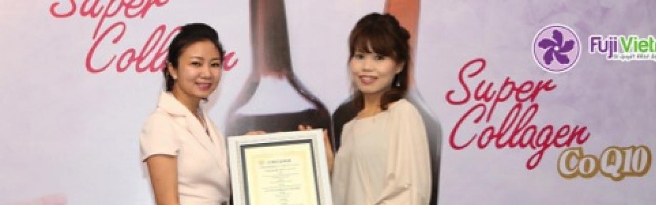 Fuji Vietnam phân phối độc quyền Super Collagen của Nhật Bản