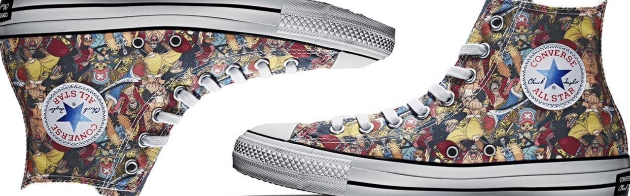 Hé lộ mẫu giày Converse One Piece đặc biệt giới hạn