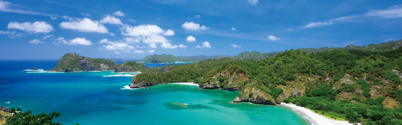 小笠原諸島-絶世の青に囲まれた、神秘の島