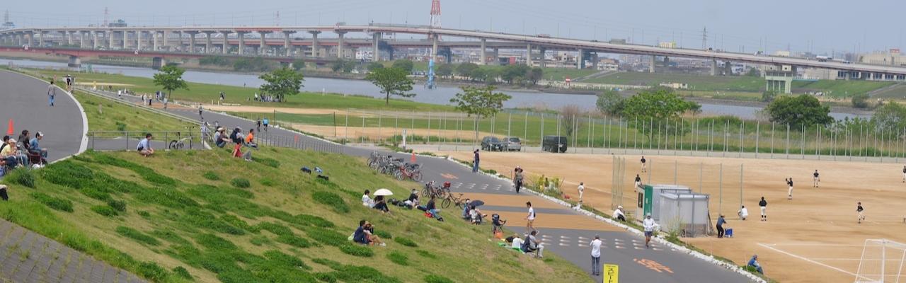 """Không gian xanh đô thị từ những """"công viên bờ sông"""""""