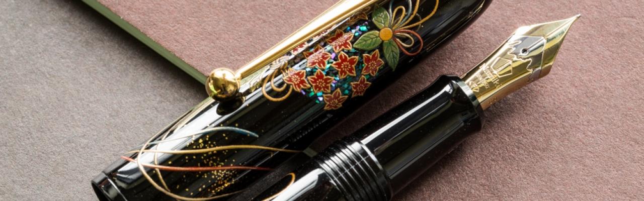Vẻ đẹp lộng lẫy của những chiếc bút máy Maki-e