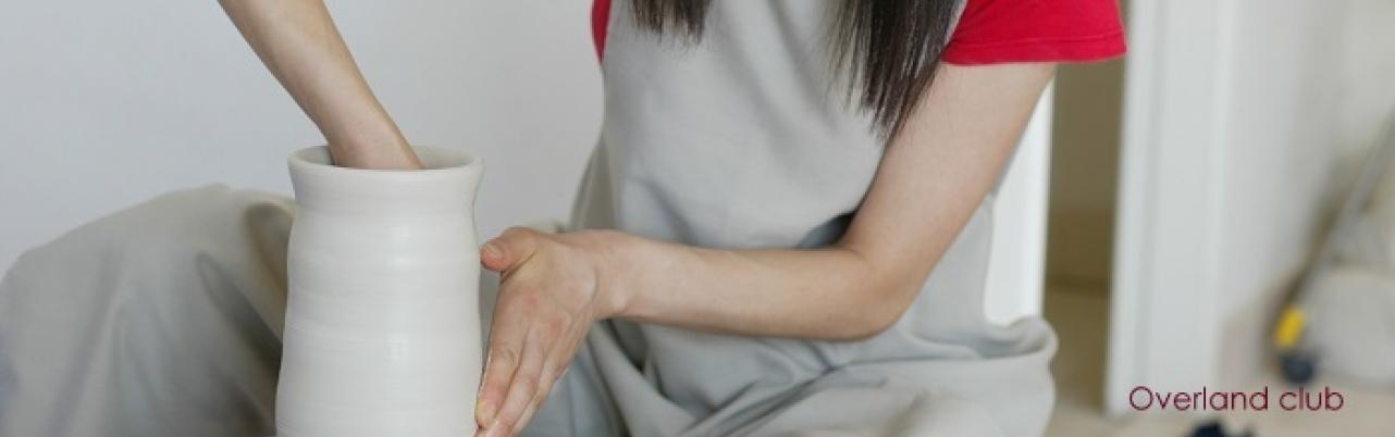 Học làm gốm với chuyên gia Nhật Bản tại Overland club