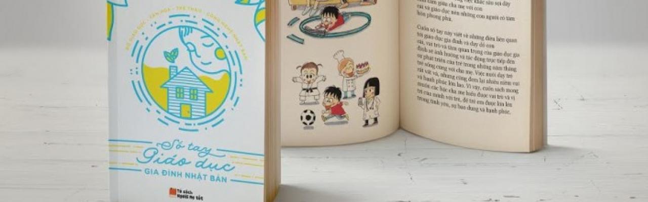 """5000 """"Sổ tay giáo dục gia đình Nhật Bản"""" miễn phí"""