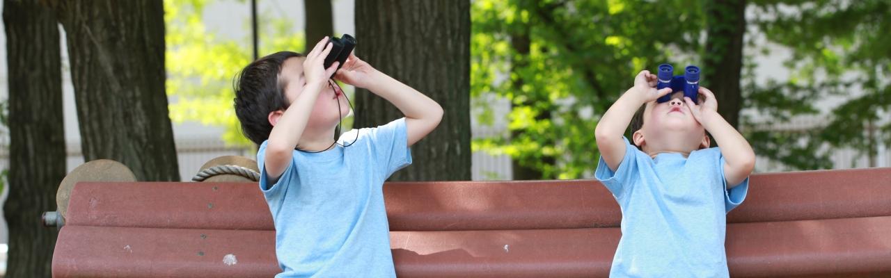 Trải nghiệm thiên nhiên giúp con trưởng thành