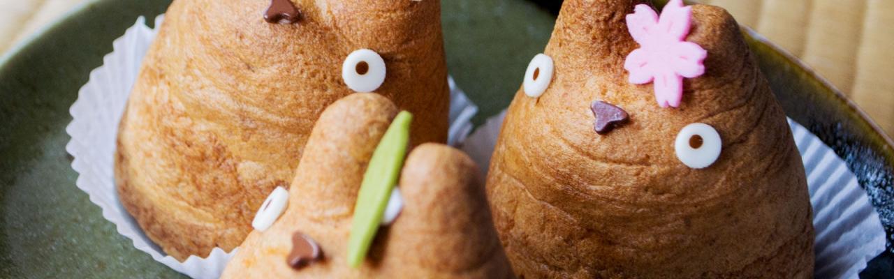 """Đến Tokyo ăn bánh su kem Totoro """"núc ních"""""""