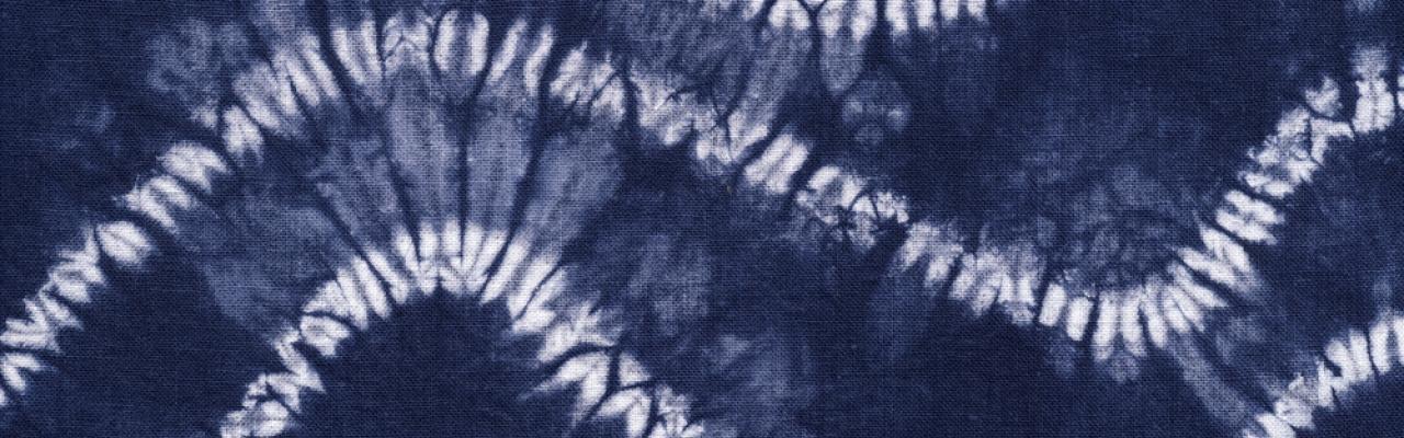Nghệ thuật nhuộm vải Shibori của Nhật Bản