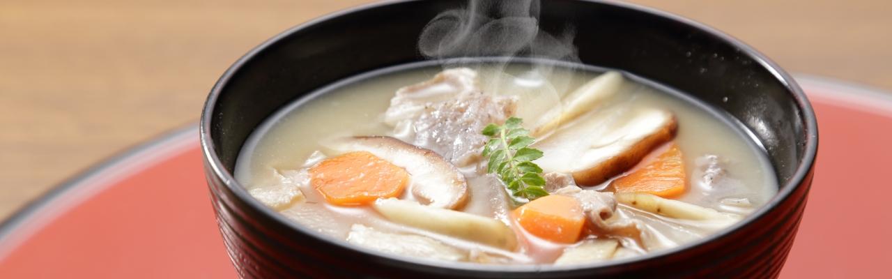Những món súp truyền thống của Nhật Bản