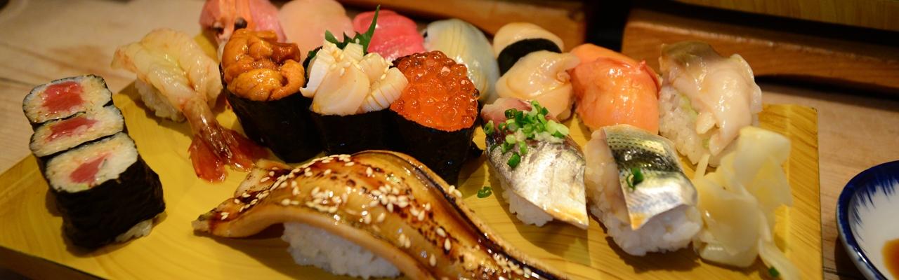 Sushi chào buổi sáng ở Tokyo