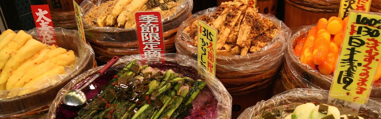 Các phương pháp muối dưa Tsukemono phổ biến ở Nhật