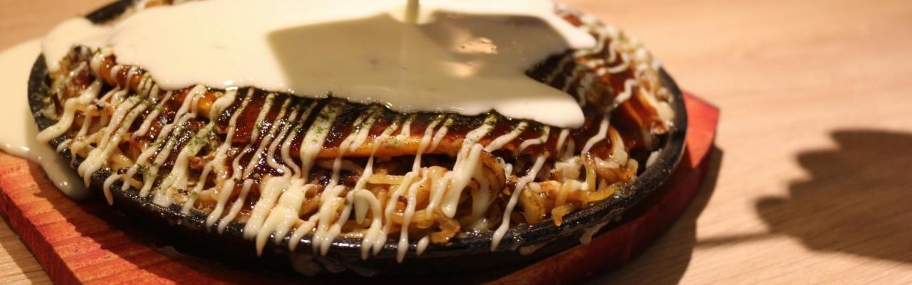 因島珠里庵:本格鉄板料理の数々