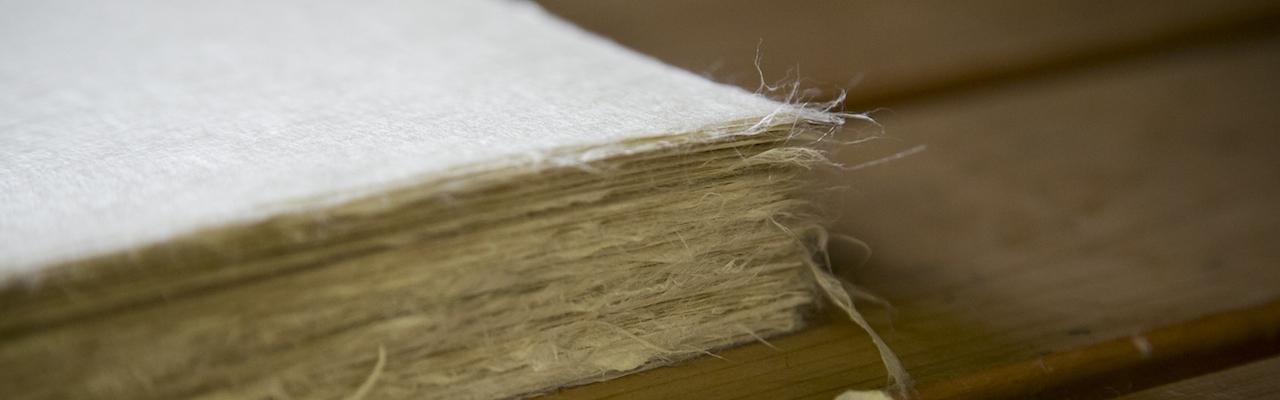 Cận cảnh quá trình làm giấy washi