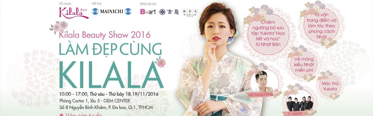 Ngắm Yukata và làm đẹp kiểu Nhật ở Kilala Beauty show 2016