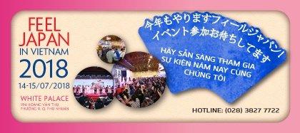 Feel Japan 2018 - Trải nghiệm văn hóa, du lịch Nhật Bản