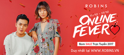 Robins - bom sale trực tuyến 2017