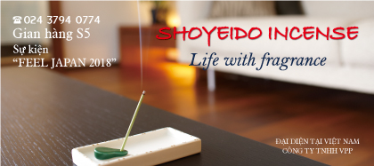 Shoyeido incense -  Life with fragrance