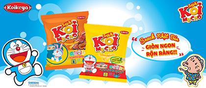 Snack Nhật Bản giòn ngon rộn ràng