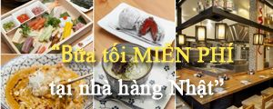 Bữa tối miễn phí tại Hinomoto Matsuri