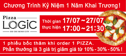 quả tặng từ pizza logic