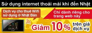 Sử dụng internet khi đến Nhật.
