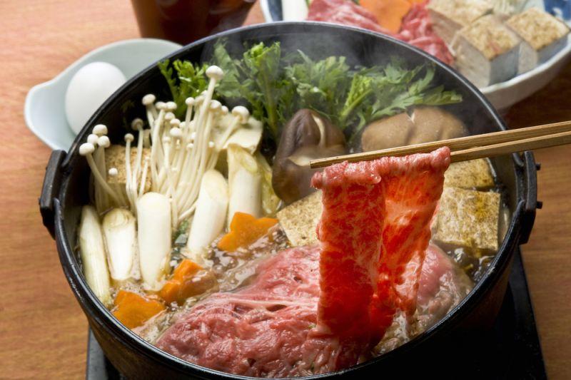 lẩu sukiyaki