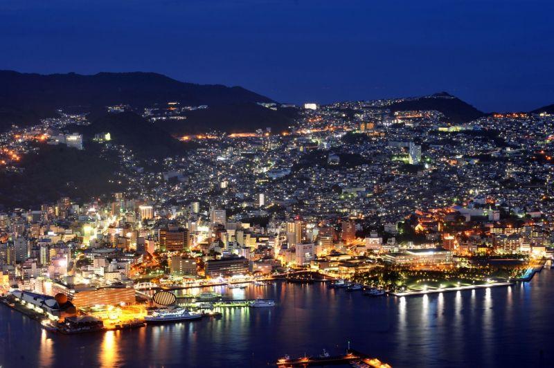 長崎市内の夜景