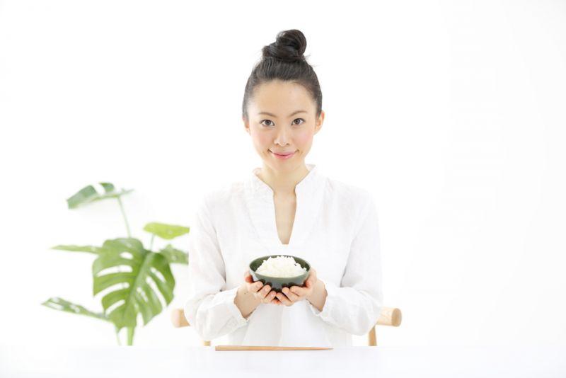 日本人と米