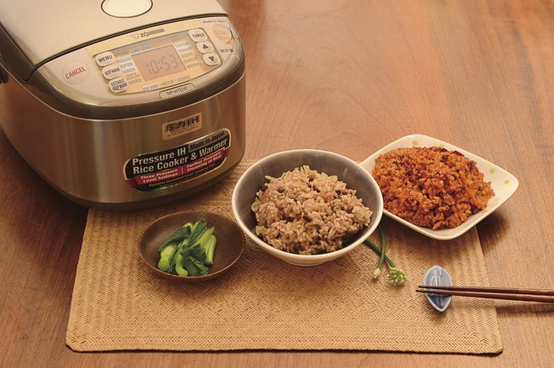 Nồi cơm điện dùng để nấu gạo lứt